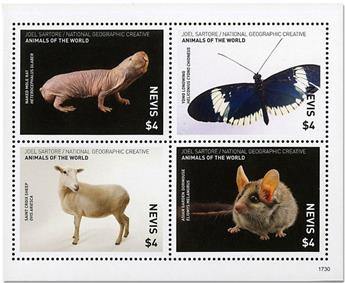 n° 2670/2673 - Timbre NEVIS Poste
