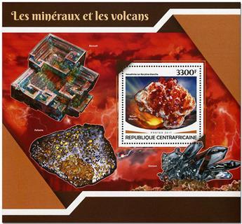 n° 1181 - Timbre CENTRAFRICAINE Blocs et feuillets