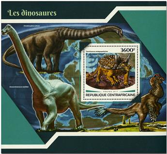 n° 1186 - Timbre CENTRAFRICAINE Blocs et feuillets