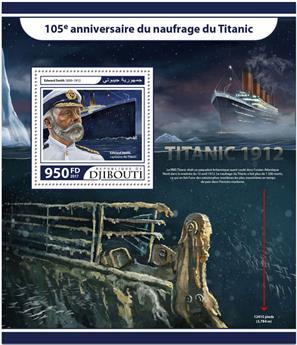 n° 190 - Timbre DJIBOUTI Blocs et feuillets