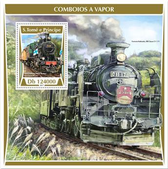 n° 1046 - Timbre SAINT-THOMAS ET PRINCE Blocs et feuillets