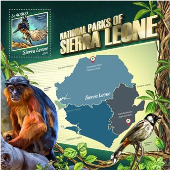 n° 1291 - Timbre SIERRA LEONE Blocs et feuillets