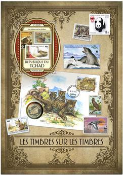 n° 161 - Timbre TCHAD Blocs et feuillets