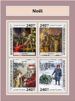 n° 1676/1679 - Timbre DJIBOUTI Poste