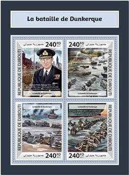 n° 1716/1719 - Timbre DJIBOUTI Poste