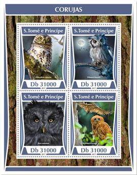n° 5801/5804 - Timbre SAINT-THOMAS ET PRINCE Poste