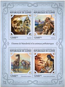 n° 8669/8672 - Timbre GUINÉE Poste