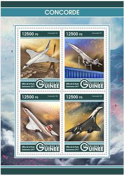 n° 8709/8712 - Timbre GUINÉE Poste