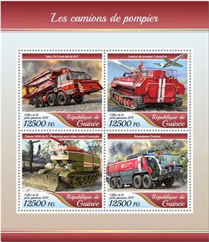 n° 8988/8991 - Timbre GUINÉE Poste