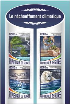 n° 9048/9051 - Timbre GUINÉE Poste