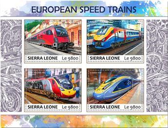 n° 7105/7108 - Timbre SIERRA LEONE Poste