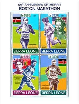 n° 7345/7348 - Timbre SIERRA LEONE Poste