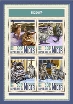 n° 4291/4294 - Timbre NIGER Poste