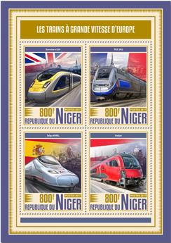 n° 4311/4314 - Timbre NIGER Poste