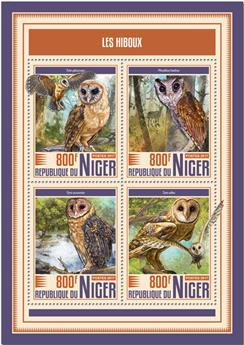 n° 4371/4374 - Timbre NIGER Poste