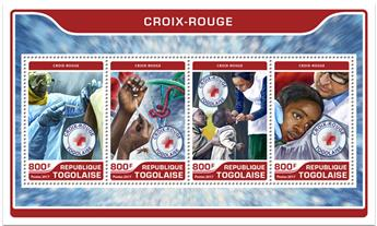 n° 5610/5613 - Timbre TOGO  Poste