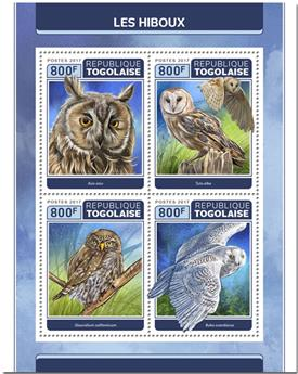 n° 5670/5673 - Timbre TOGO  Poste