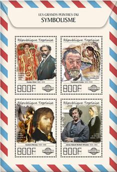 n° 5905/5908 - Timbre TOGO  Poste