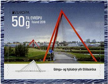 n° 1478/1479 - Timbre ISLANDE Poste (EUROPA)