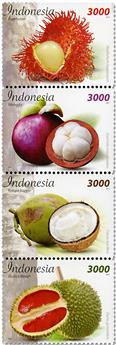 n° 2865/2868 - Timbre INDONÉSIE Poste