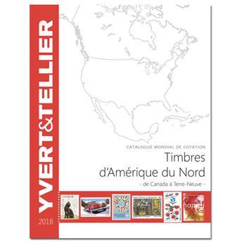 AMERIQUE DU NORD - 2018 (Catalogue des timbres des pays d'Amérique du Nord)
