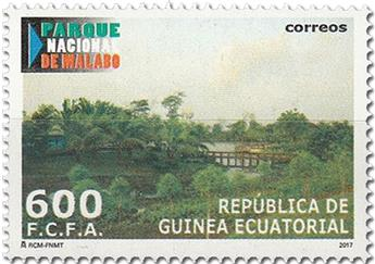 n° 659/662 - Timbre GUINEE-EQUATORIALE Poste