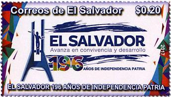 n° 1898 - Timbre SALVADOR Poste