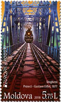 n° 895/896 - Timbre MOLDAVIE Poste (EUROPA)