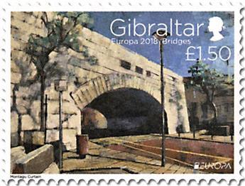 n° 1838/1839 - Timbre GIBRALTAR Poste