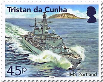 n° 1192/1195 - Timbre TRISTAN DA CUNHA Poste