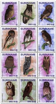 n° 2728/2739 - Timbre SURINAME Poste