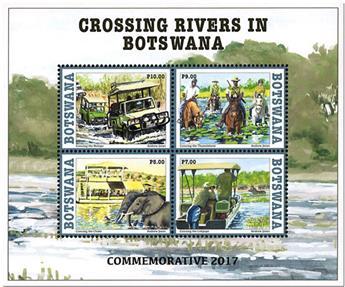 n° 55 - Timbre BOTSWANA Blocs et feuillets