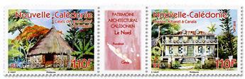 n° 1333/1334 - Timbre Nelle-Calédonie Poste