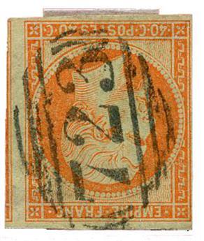 n°16 obl. TB - Timbre FRANCE Poste