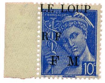 n°1M** (MAYER) - Timbre FRANCE Libération (Maquis du loup)