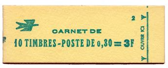 n°1536-C1* - Timbre FRANCE Carnets
