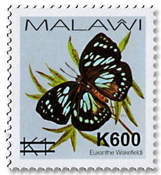 n° 882/886 - Timbre MALAWI Poste