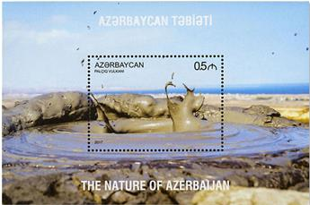 n° 155/156 et n° 159/161 - Timbre AZERBAIDJAN Blocs et feuillets
