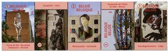 n° 4749/4753 - Timbre BELGIQUE Poste