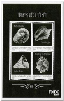 n° 98/101 - Timbre BONAIRE Poste