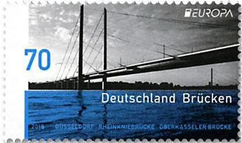n° 3158 - Timbre ALLEMAGNE FEDERALE Poste (EUROPA)