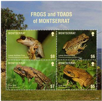 n° 1648/1651 - Timbre MONTSERRAT Poste