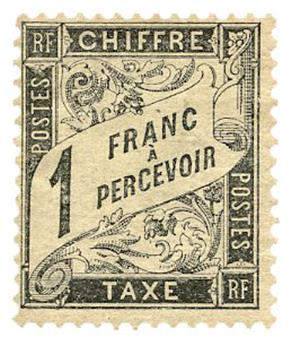 n°22* - Timbre FRANCE Taxe