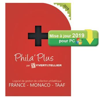 TELECHARGEMENT : Mise à jour PHILA´PLUS Évolutif 2019 FRANCE (PC)