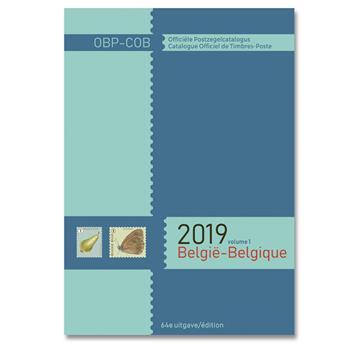COB 2019 (Timbres de Belgique)