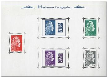 n° 143 - Timbre France Blocs et feuillets
