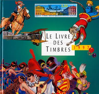 LE LIVRE DES TIMBRE DE L´ANNEE 1997