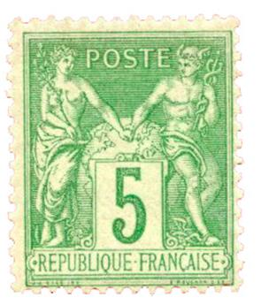 n°106** - Timbre FRANCE Poste