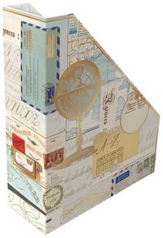 Porte-documents / revues Vintage Maps Collage