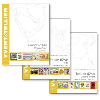 PACK : CATALOGUES ASIE (MOYEN-ORIENT- INDE - EXTREME ORIENT)